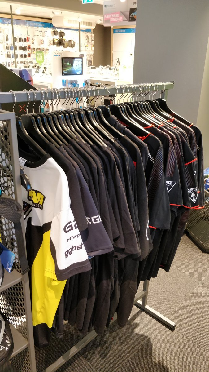 """Still seems surreal that stores casually carry esport team merch alongside other """"normal"""" products.  We made it far, but this is still just the beginning. https://t.co/cHuG1yjTmu"""