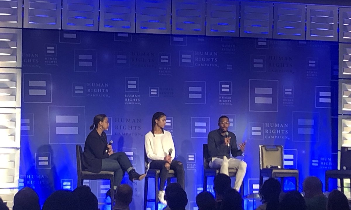 Loved hearing this important panel on Black #lgbtq youth at our #EqualityConvention. Seriously moved by the amazing work these folks do for our youth especially in communities of color