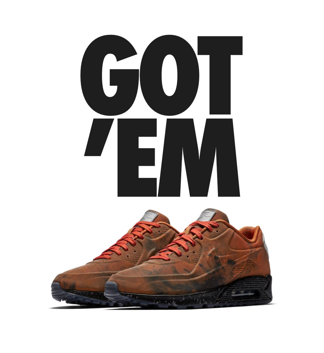 da37403de0b527 The Nike Air Max 90 QS is yours. Share your latest pick up with your