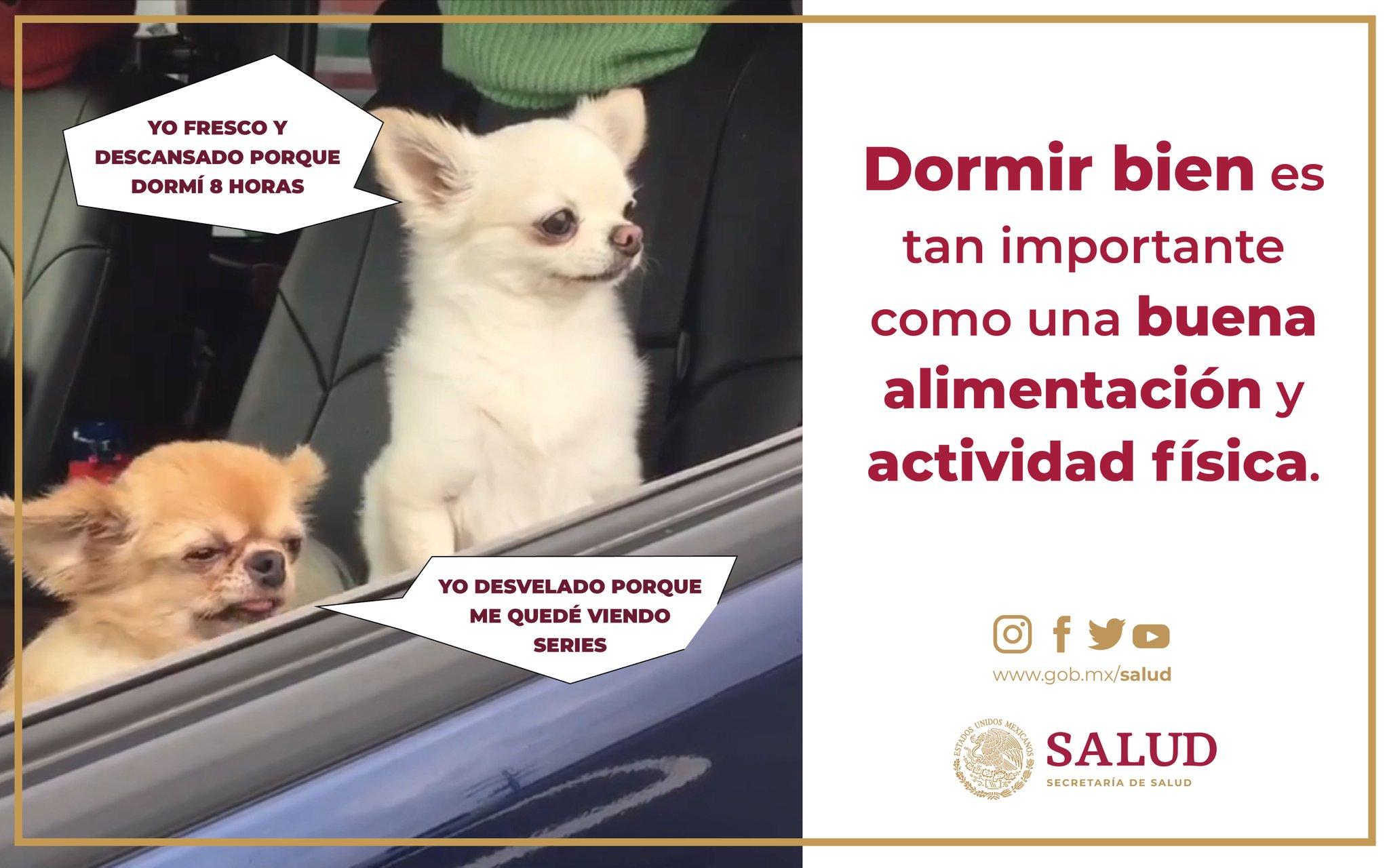 ο χρήστης Salud México στο Twitter Recuerda Una Noche De Sueño