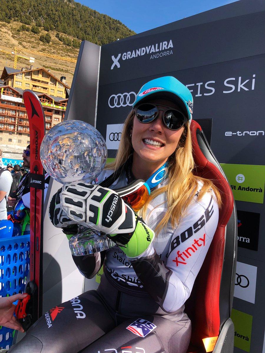 Mikaela Shiffrin extends record run as Marcel Hirscher hints at retirement