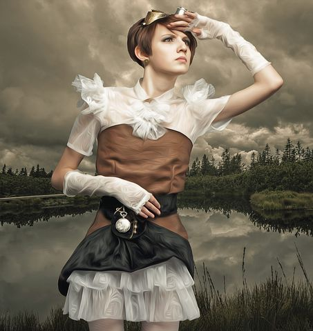 What's your favorite aspect of #steampunk? The clothes? The gadgets? Join our poll in the Fantasy and Sci-Fi Reader's Lounge https://t.co/DkoRgMxyj4