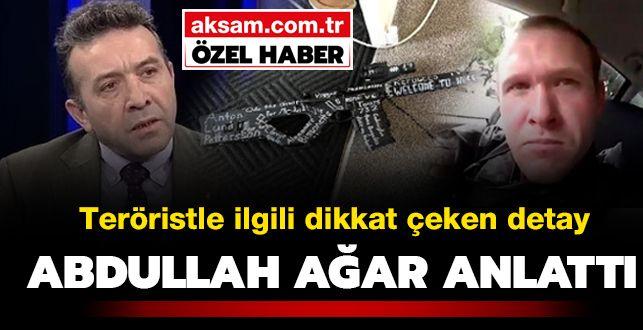 Teröristle ilgili dikkat çeken detay! Abdullah Ağar anlattı http://bit.ly/2ua07ym
