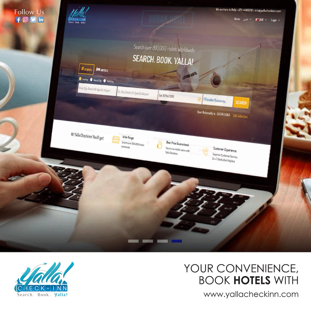 Your #Convenience... #Book #Hotels with https://t.co/baScaL4E94 https://t.co/b3k6bwpkYm