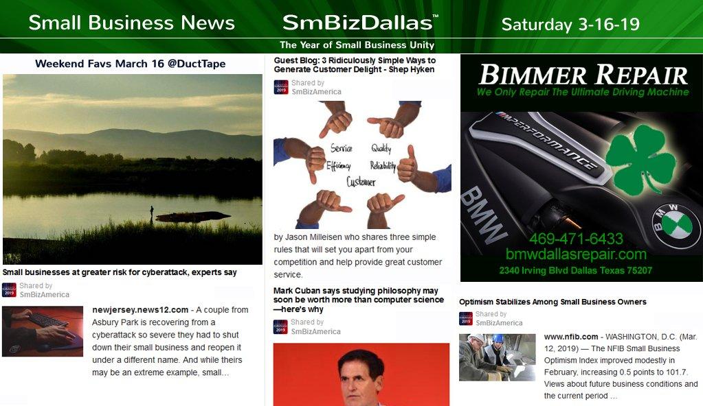 #SmallBusiness #Dallas #News  #StPatricksDaySVG  #Dallas #Texas #Startups #DallasStartupWeek #DSW19 #DallasParade Sponsor @BimmerRepair  @DallasStPats
