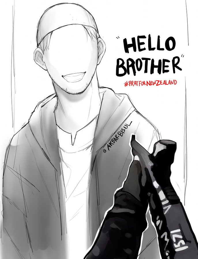 Islam Farid's photo on #NewZealandTerroristAttack