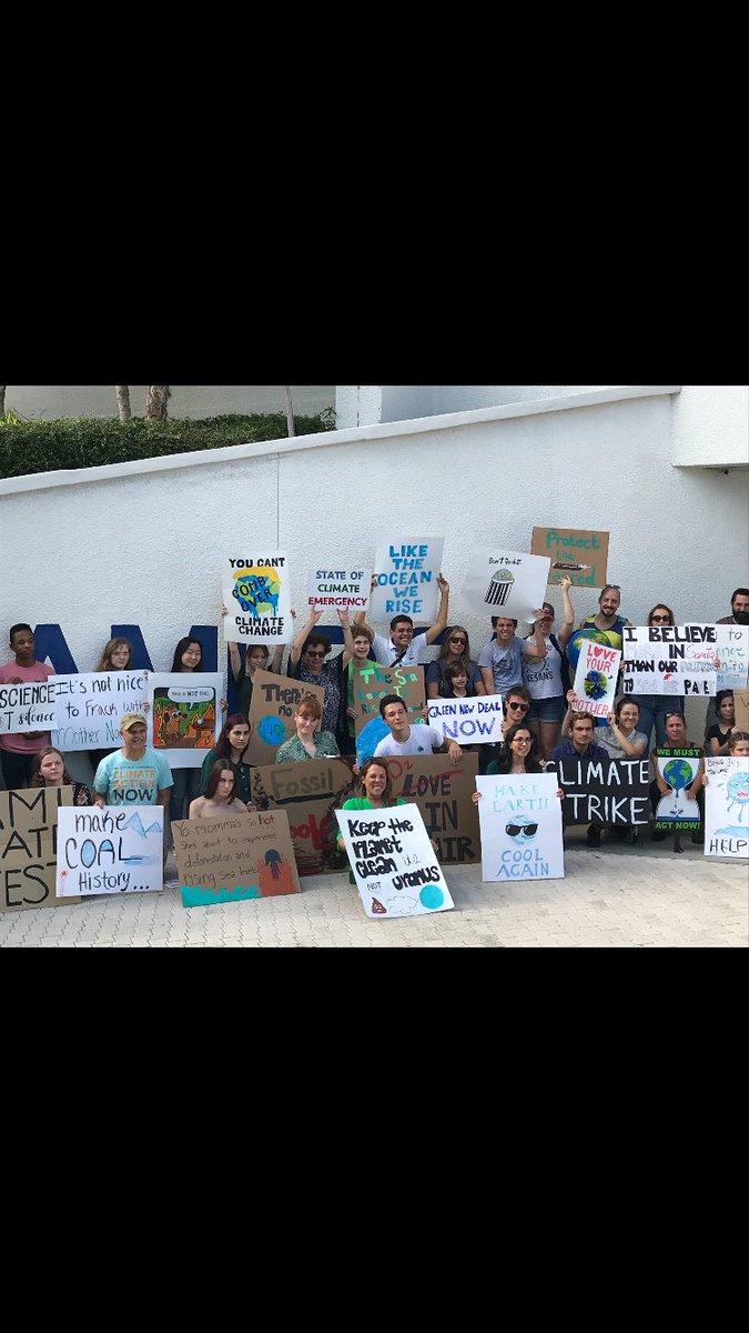 Matt Haggman's photo on #YouthClimateStrike