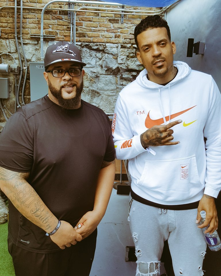 @matt_barnes9 is hated by many and blamed for plenty, but is one of the most intelligent and well spoken men you could meet. He's making major moves to educate and mentor the next generation's athlete to be better prepared for the future. S/O to @HueForEveryMan for setting it up