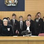 Image for the Tweet beginning: Future Judges, Barristers, Solicitors, Magistrates,