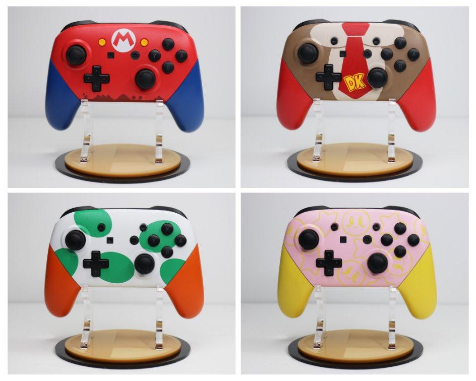Este fan se ha propuesto crear un mando Pro de Nintendo Switch para