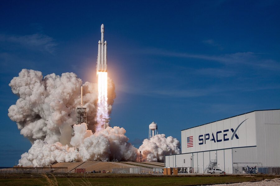 SpaceX's Falcon Heavy rocket could launch on its first commercial flight as soon as April 7. SpaceX will re-fly the side boosters on a Falcon Heavy launch this summer in a key demonstration for the Air Force to move closer to certifying reused rockets. https://spaceflightnow.com/2019/03/14/air-force-sees-upcoming-falcon-heavy-launches-ask-key-to-certifying-reused-rocket-hardware/…