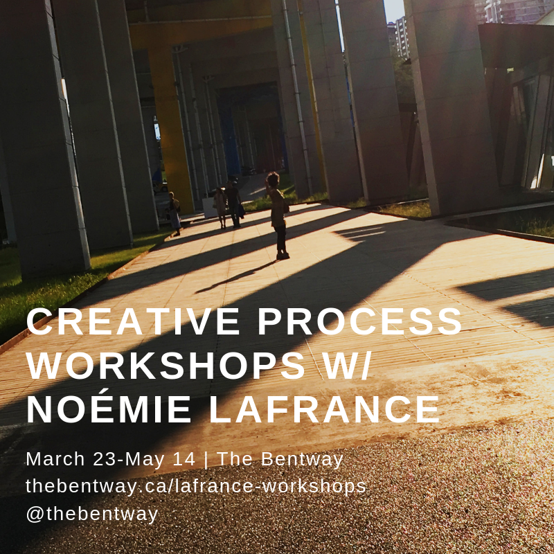 Site Specific Work By Noemie Lafrance Workshops For Movers Of All Ages Run Mar 23 May 14 Register Bitly BW La SC Pictwitter DXDUAijiaL