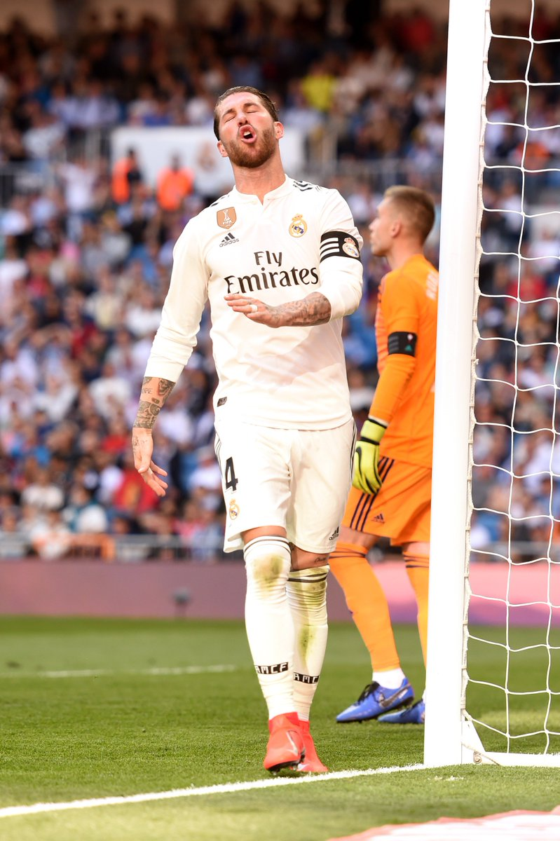 15 - Only Barcelona (16) have hit the woodwork more in LaLiga this season than Real Madrid (15, alongside Sevilla. Thud.