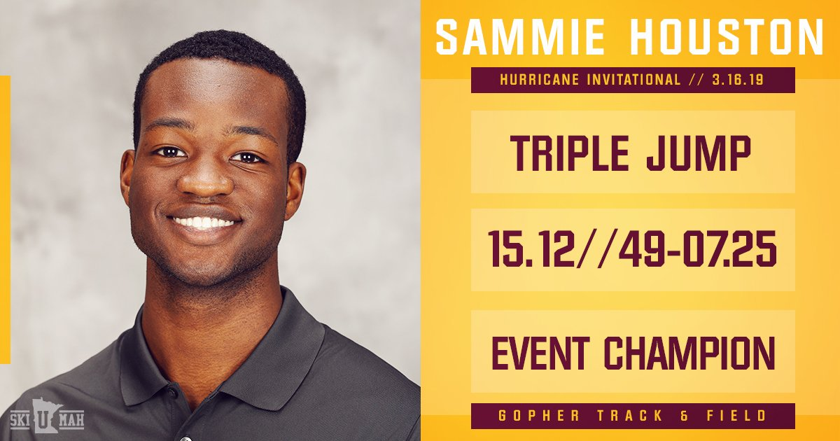 Minnesota Track & Field and Cross Country (@GopherMCCTF) | Twitter