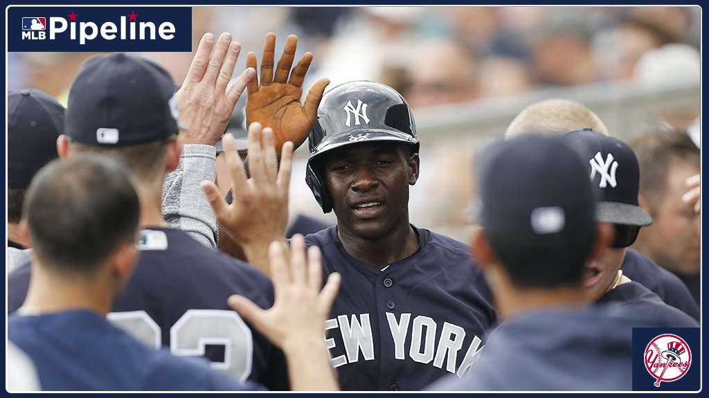 MLB Pipeline's photo on #Yankees