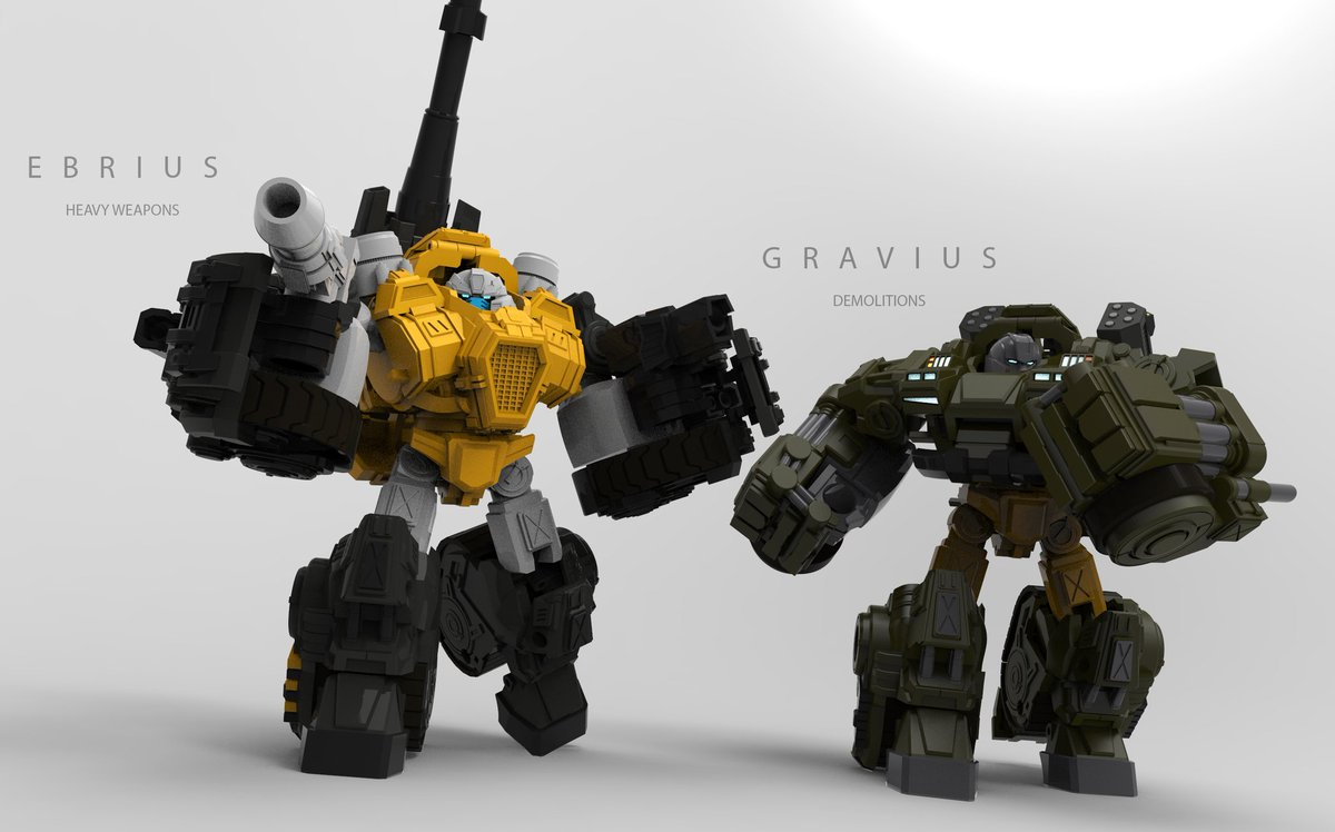 Since MMC Gravius (Brawn) got revealed you might wonder why he is a Guzzle retool. Here's the reason why (though obviously canceled with this new one replacing it). #toydesign #transformers #thirdparty #mastermindcreations #reformatted #Brawn