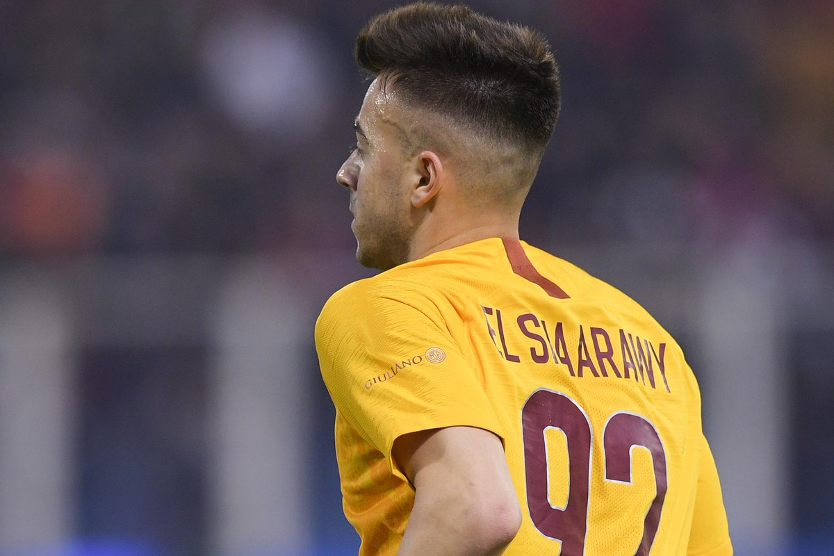 AS Roma English's photo on El Shaarawy