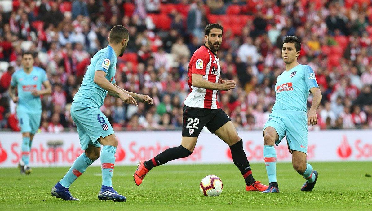 Rodrigo, en el duelo ante el Athletic (Foto: ATM).