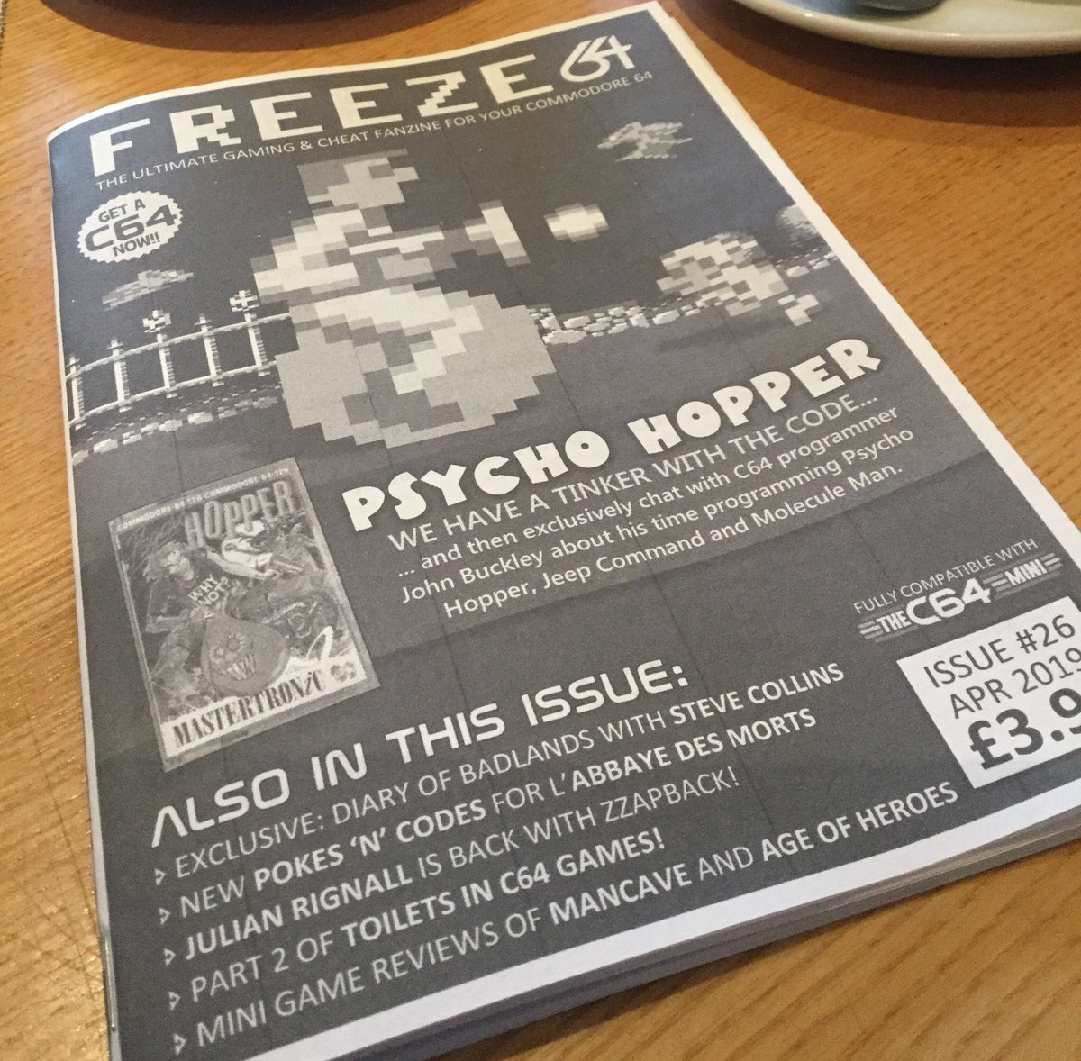FREEZE64UK Does anyone have a #commodore64 game in the