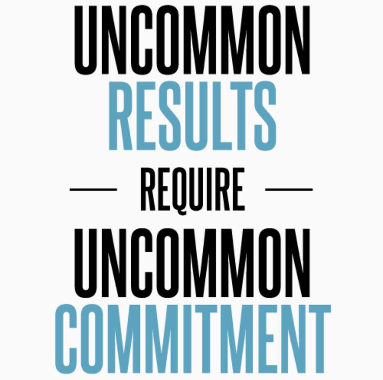 What are you really committed to? 🎯 What do you spend most of your time on?  🕰 Do those two match up?  The secret to all major change is in your daily routine...your daily commitment. 💯 @thewrightleader @hansappel094 @ShiftParadigm @NowakRo @ifireup @mkolligris