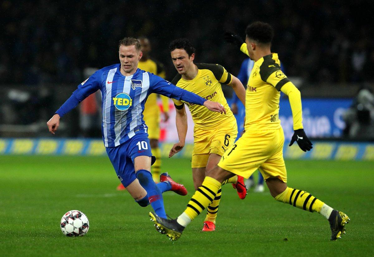 Бундесліга. Боруссія Дортмунд дотиснула Герту в результативному матчі - изображение 3
