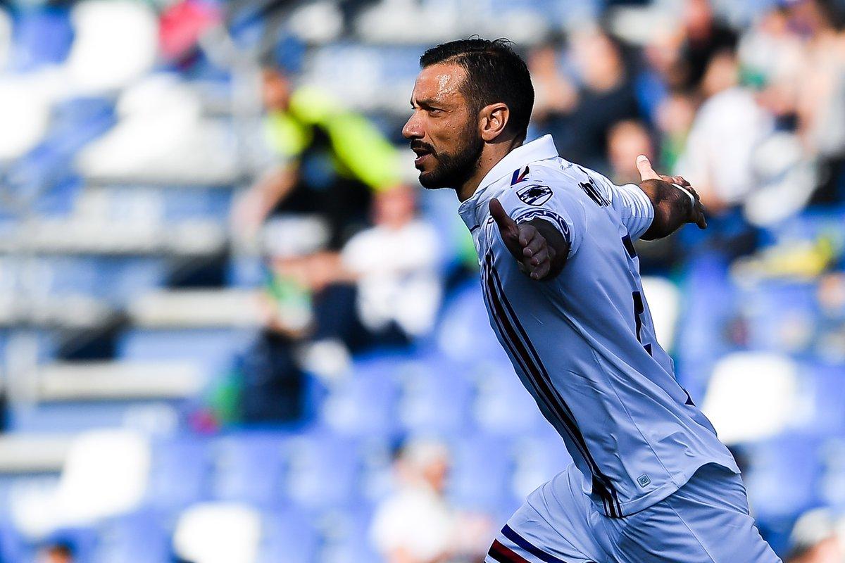 Sampdoria English's photo on #quagliarella