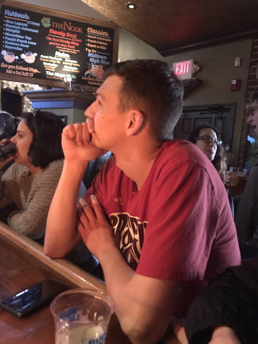 Realizing the score... #BigTenTournament