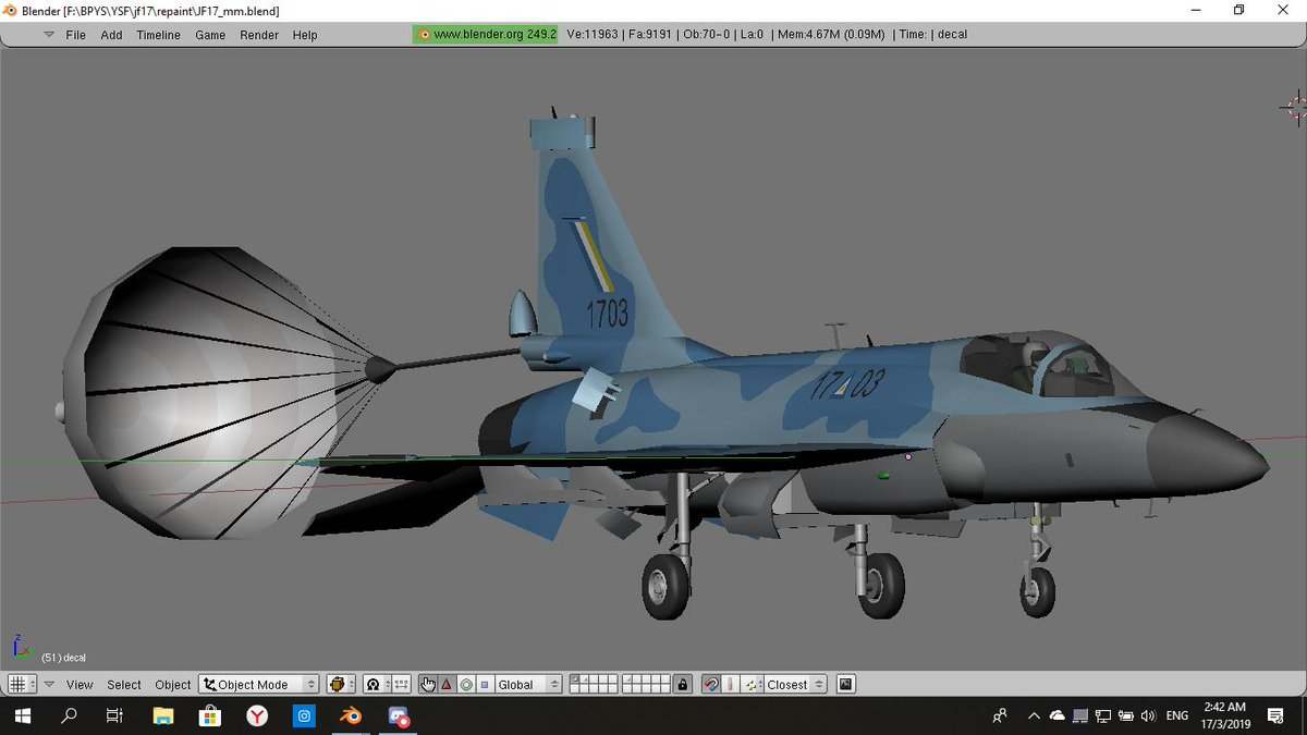 JF-17 export Myanmar #YSFlight #YSFS Tweet added by Mohd