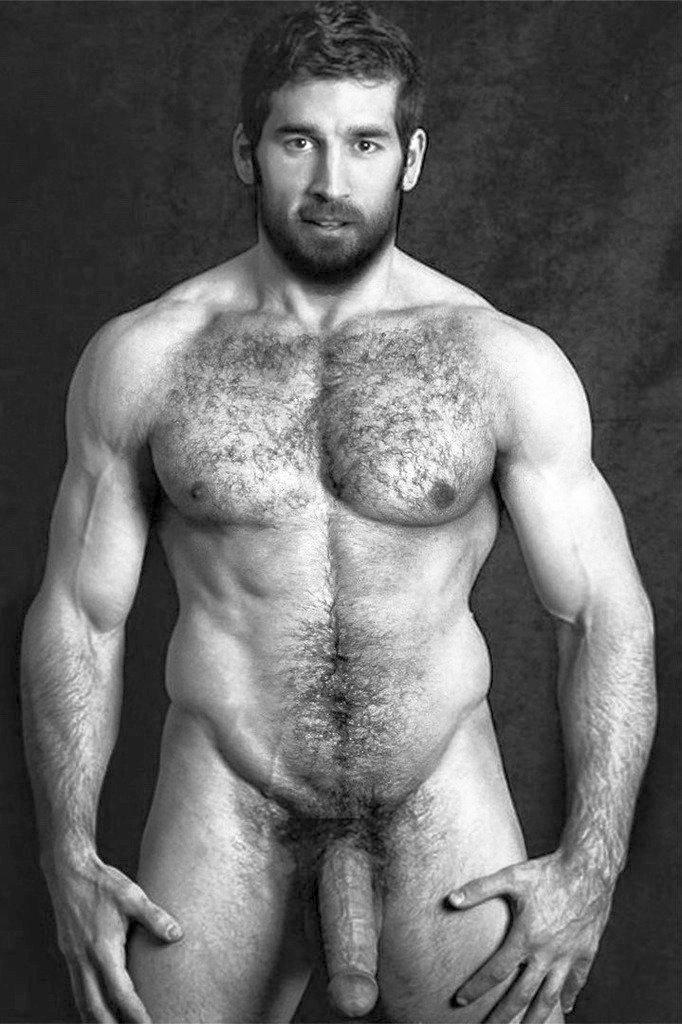Hot hairy hung white men