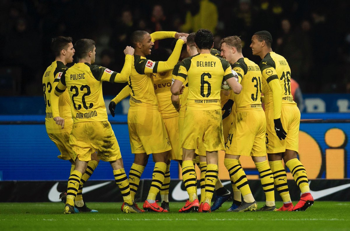 Video: Hertha BSC vs Borussia Dortmund