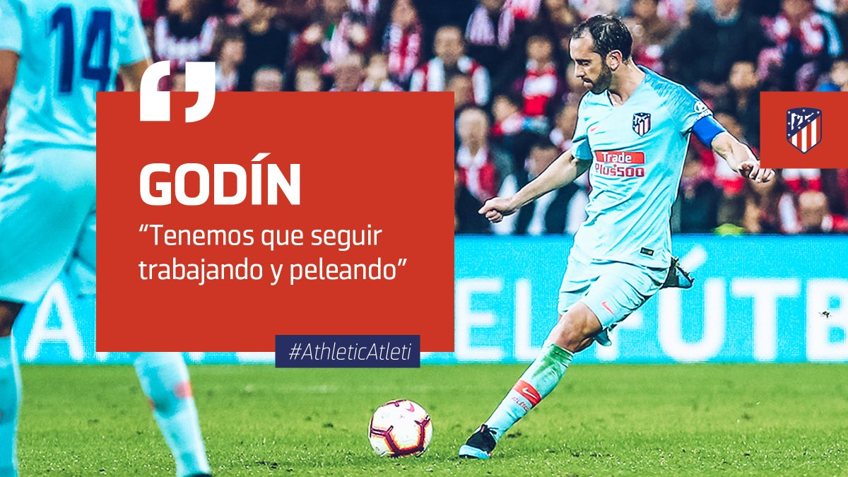 📡 🗞| ZONA MIXTA  🎙 @diegogodin analiza el #AthleticAtleti ➡ http://ow.ly/uaJL30o4rDk #AúpaAtleti