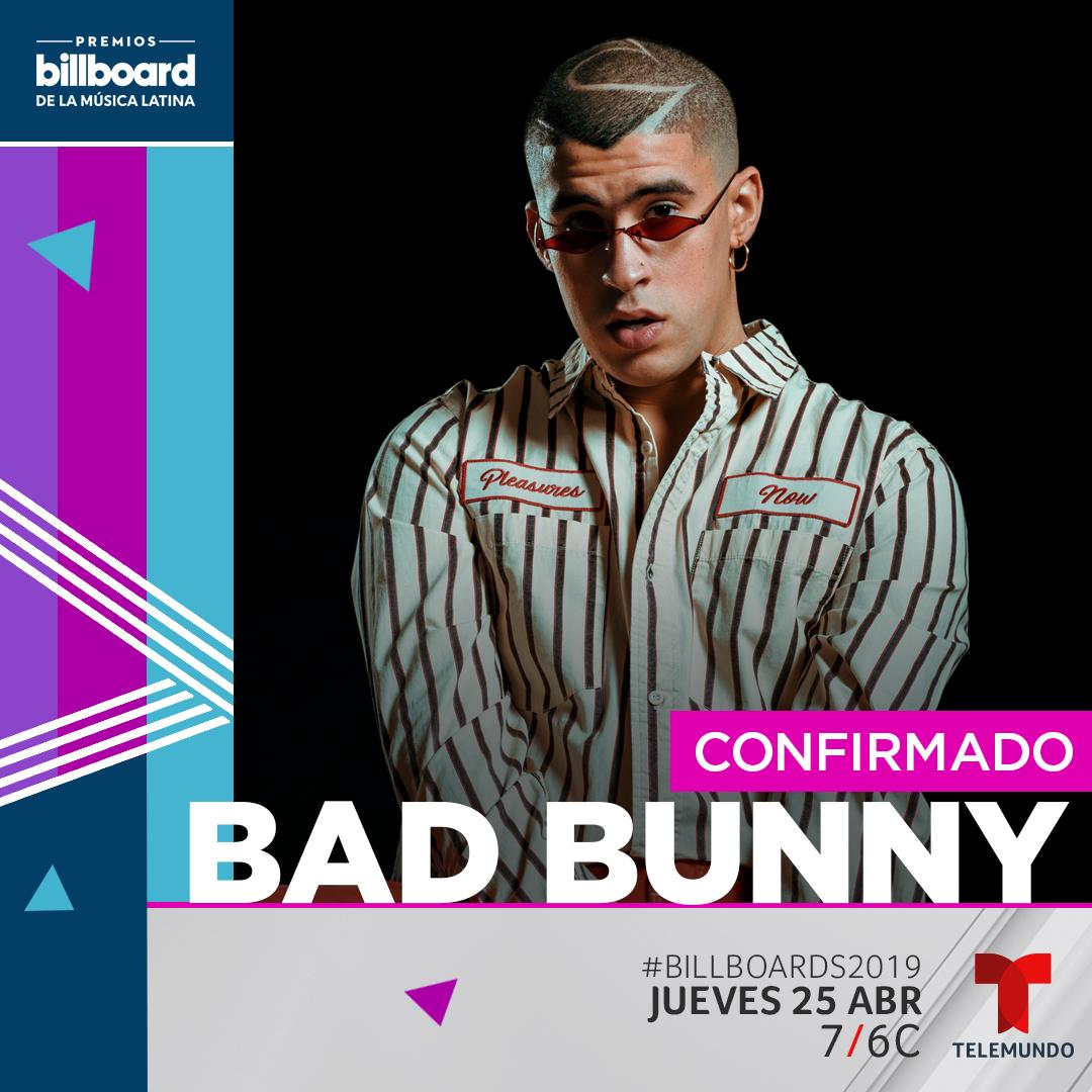 Bad Bunny, Las Vegas, and you.  Get your tickets to the 2019 Billboard Latin Music Awards here:  https:// blbrd.cm/MUK1sR  &nbsp;   #Billboards2019 <br>http://pic.twitter.com/lAfnti5uRi