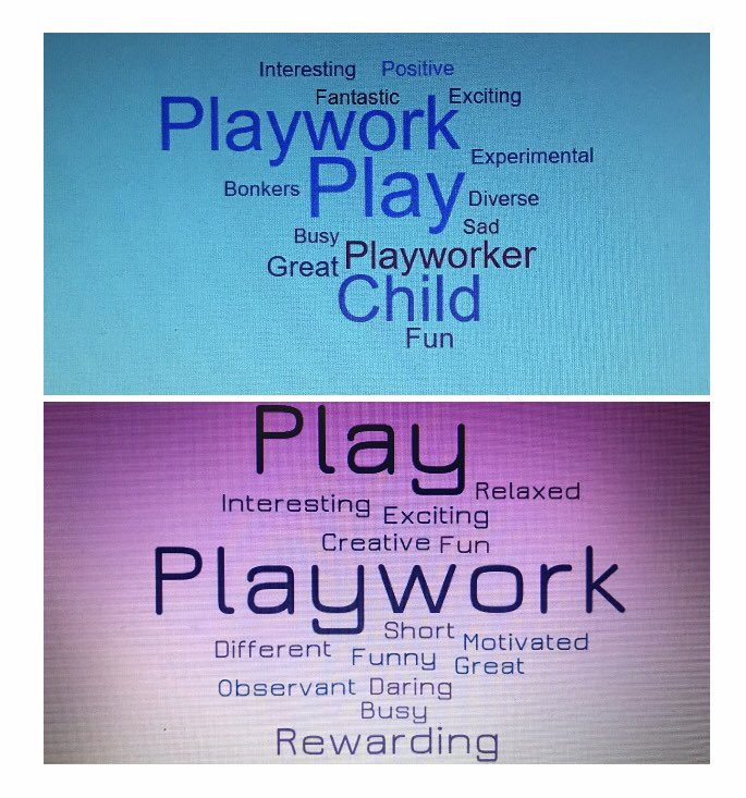 How would you describe your week? Any of this cover it? #reflection #playandplaywork #constantlylookingtoimproveonsomething @LaurLaurz @wkrussell @SarahGoldsmith @MeynellGames
