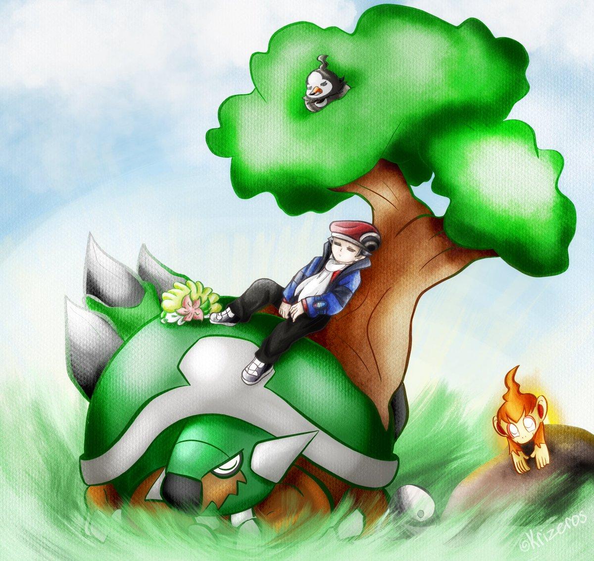 Pokemon ocs venosaur torterra neonanio, png download