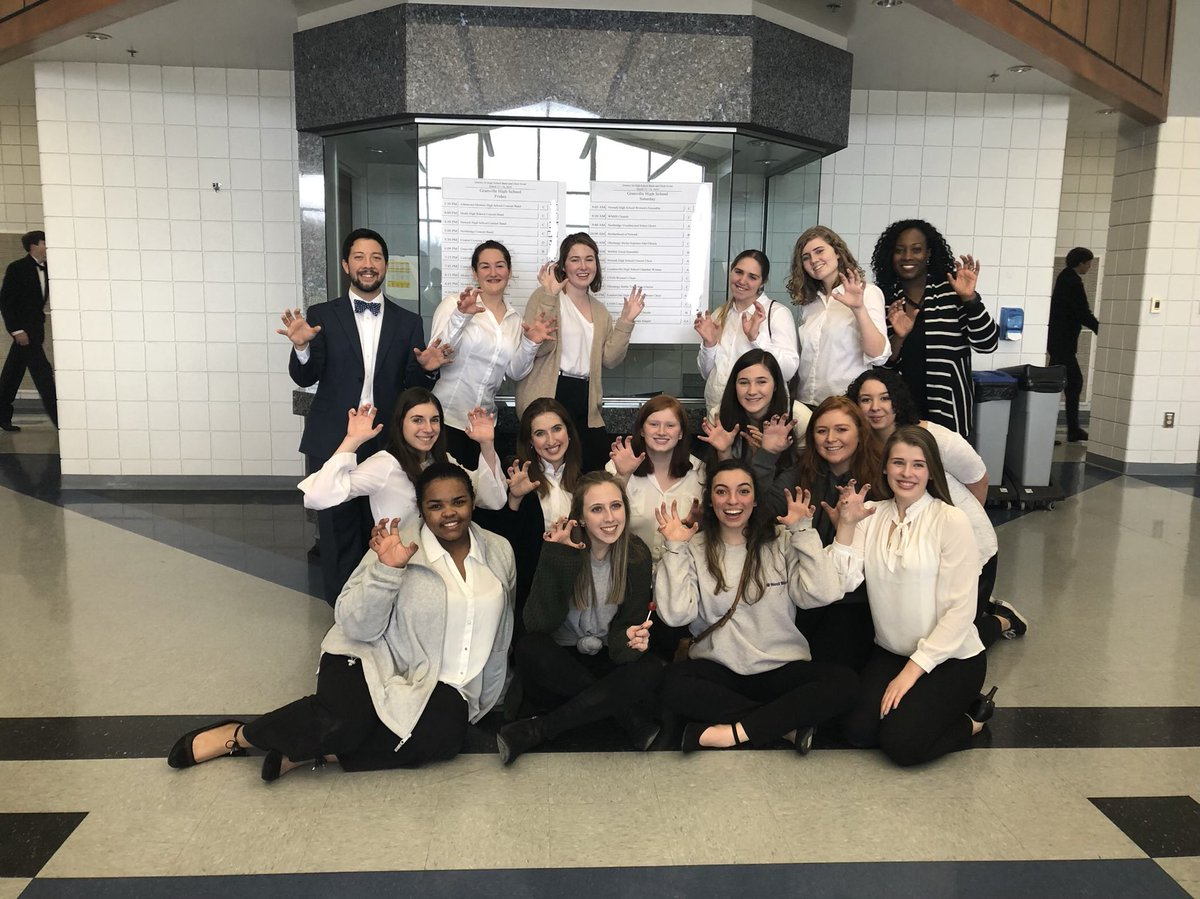 So incredibly proud of our singers today! Sop-Alto Chorus and Woman's Chorale advance to States with a Superior rating and Tenor-Bass Chorus received an Excellent rating overall. Superior sight reading for ALL choirs!! #bravobears @Todd_spinner @FriendsFbpa