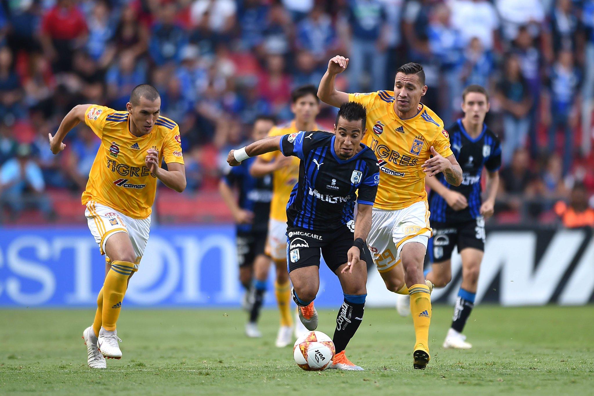 Tigres golea 4-1 al Queretaro en la Fecha 11 2019