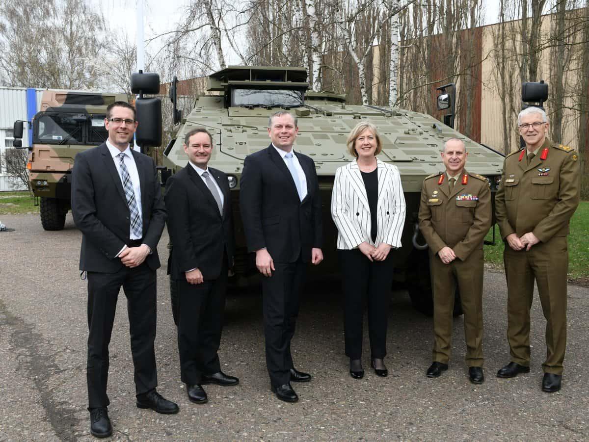 شركة راينميتال Rheinmetall ستقوم بتزويد قوات الدفاع الأسترالية بأكثر من 200 Boxer 8×8 المدرعة D200T9eX0AEY9dn