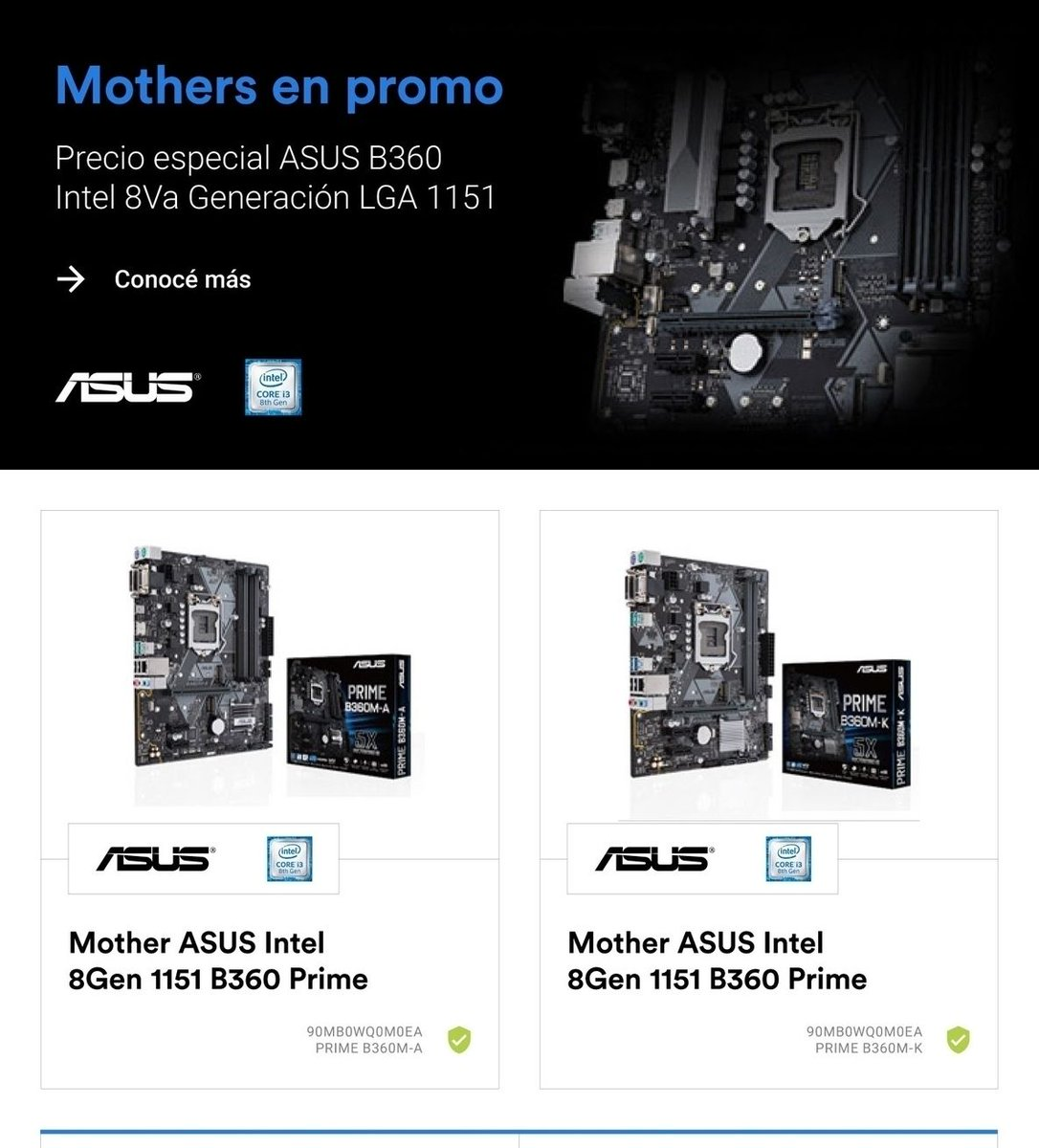 forwardcordoba #motherboard mATX #Intel #B360 #gaming con