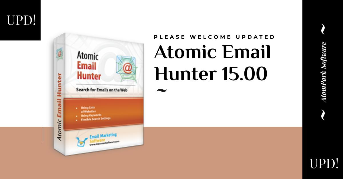 serial number atomic email hunter open