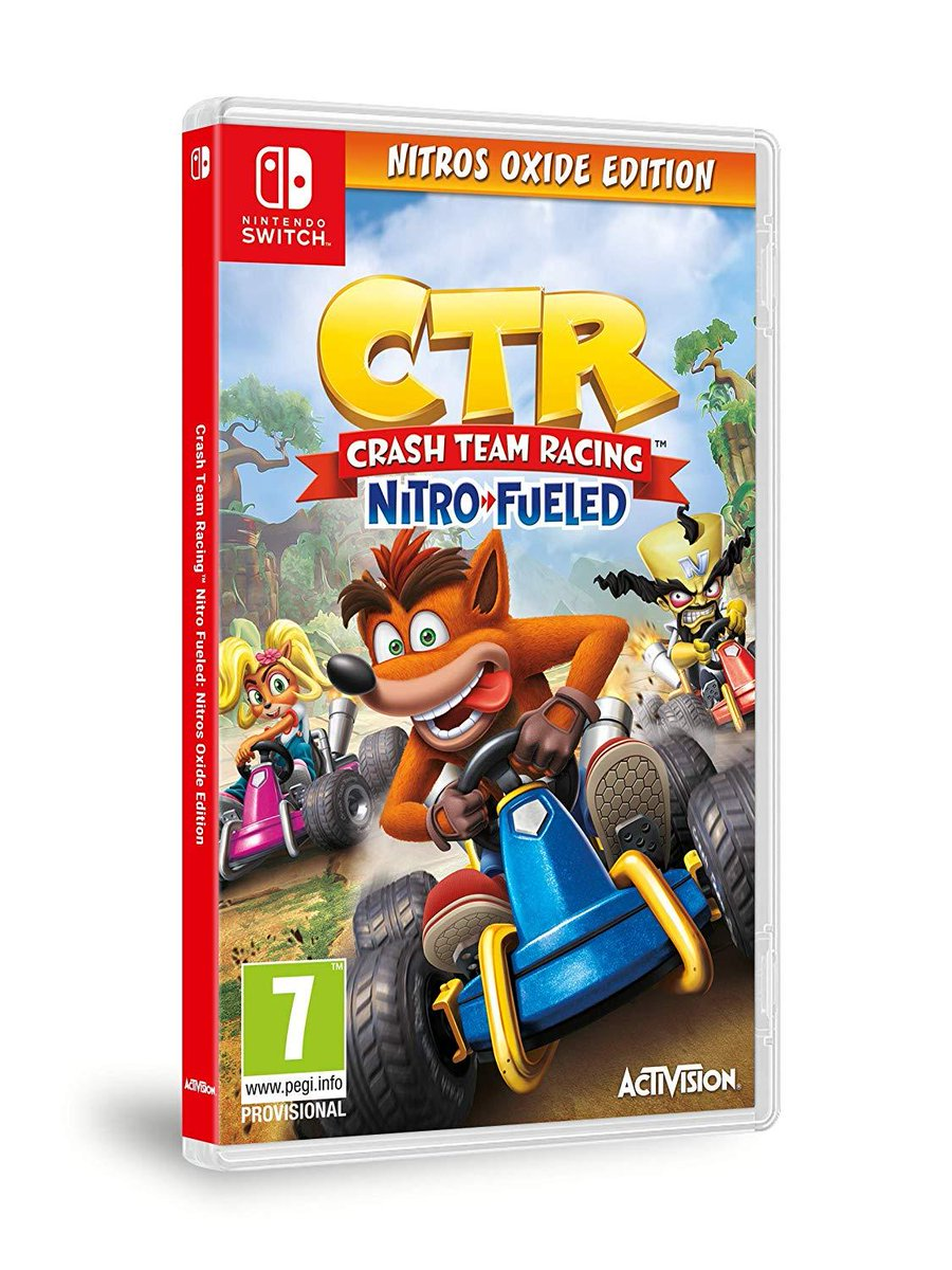 Crash Team Racing Nitro-Fueled: Nitros Oxide Edition Is Receiving A