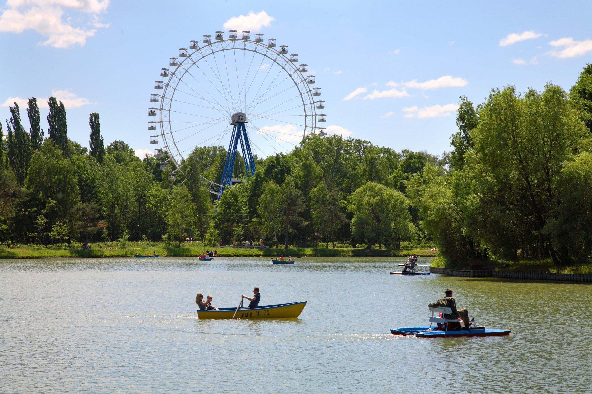 парки москвы фото с названиями и описанием местным меркам