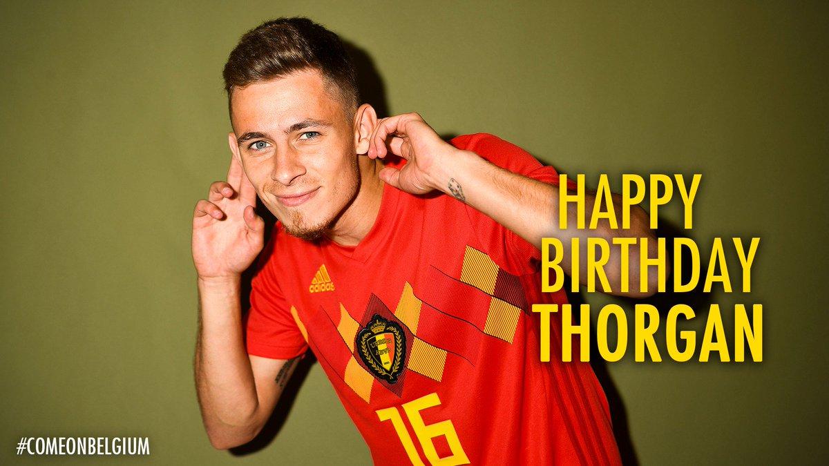 🎈⭐️ 26 ⭐️🎈  Congratulations @HazardThorgan8 🥳  #COMEONBELGIUM 🇧🇪 #EuropeanQualifiers #EURO2020