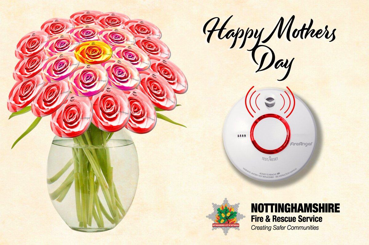 On #Mothersday2019 we love to give flowers to our mums to thank them for all they have done for us. Why not show them how much you care by checking their smoke alarm. It only takes a second but could save their life!#SmokeAlarmsSaveLives #MothersDaygifts #ShowThemYouCare <br>http://pic.twitter.com/yhzaDUCXjU