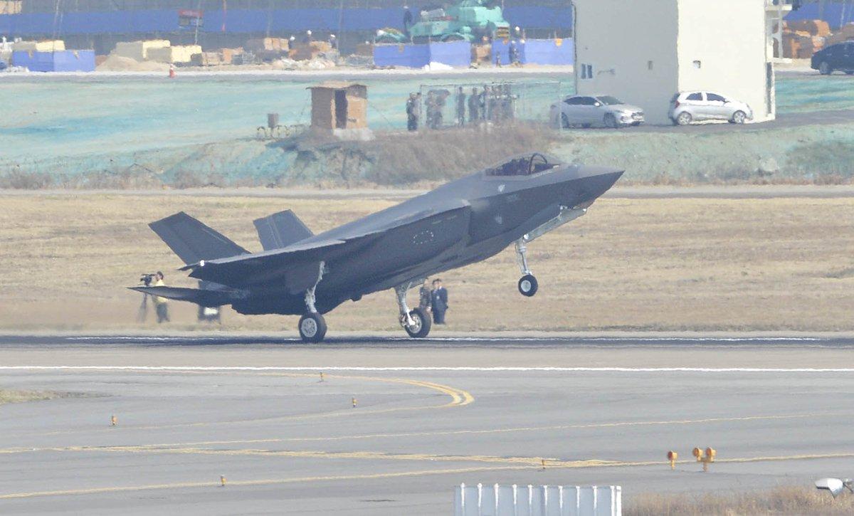 كوريا الجنوبية تعتزم شراء 20 طائرة إف-35 من واشنطن D20wJKJUcAARXJT