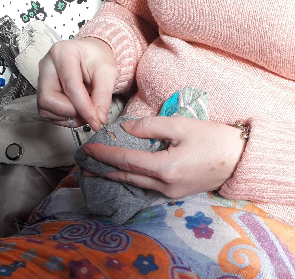 Darning workshop coming up next Thurs 4th. 7-9pm. Dont throw away, mend it.
