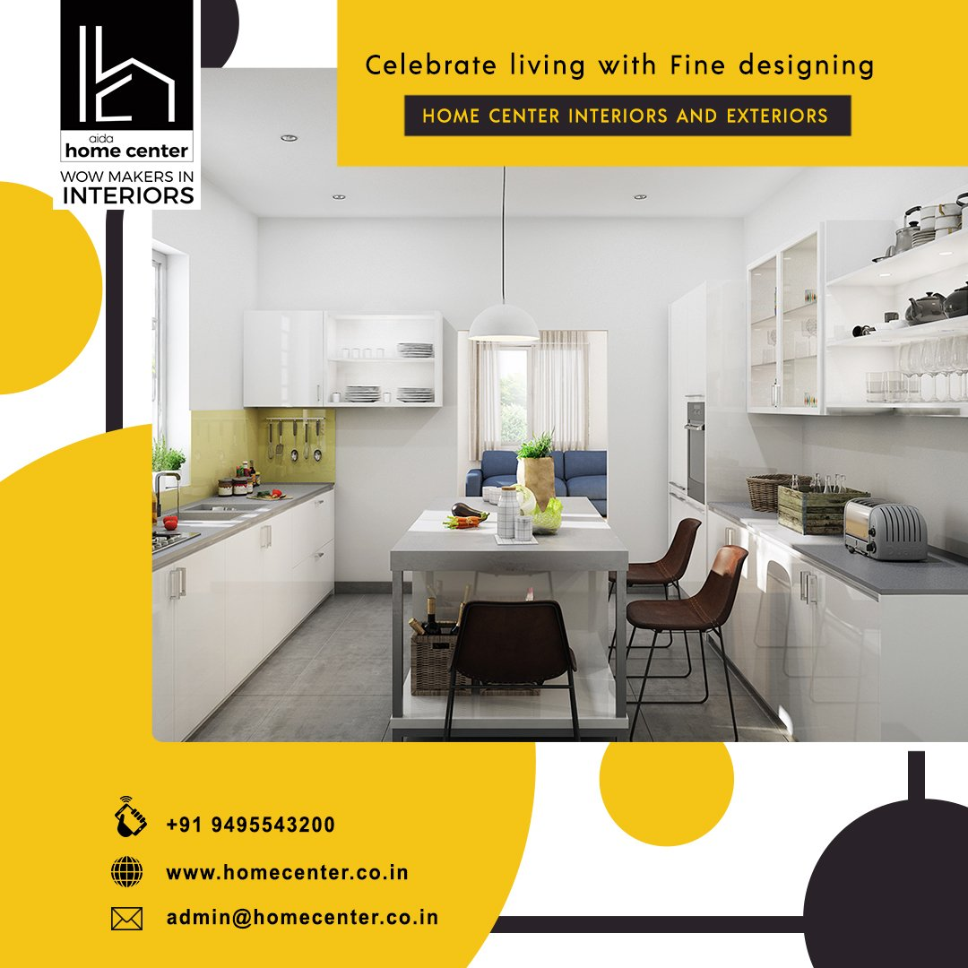 Home Center Interiors On Twitter Celebrate Living With Fine Designing Home Center Interiors Https T Co X8uta5gsm9 Home Interiors Interiorsinkochi Interiors Interior Life Homecenter Luxury Kitchen Modular Interior Decor Design Diy