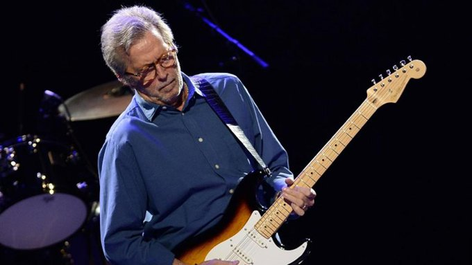 """Every time you pick up your guitar to play, play as if it\s the last time\""  Happy 74th birthday Eric Clapton"