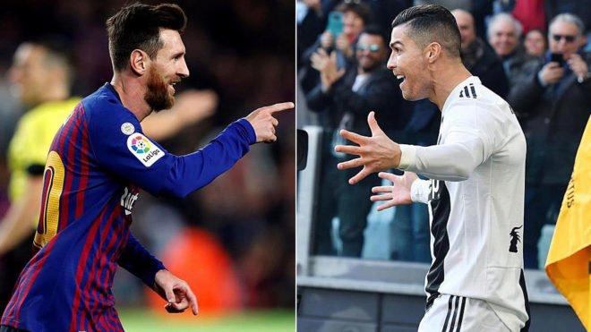 """Messi """"Dans une liste sans moi qui est le meilleur du monde ? Aujourd'hui je mets Hazard, Neymar, Suarez, Mbappé et Aguero. Cristiano Ronaldo je le mets avec moi hors de la liste"""" [@elchiringuitotv]"""