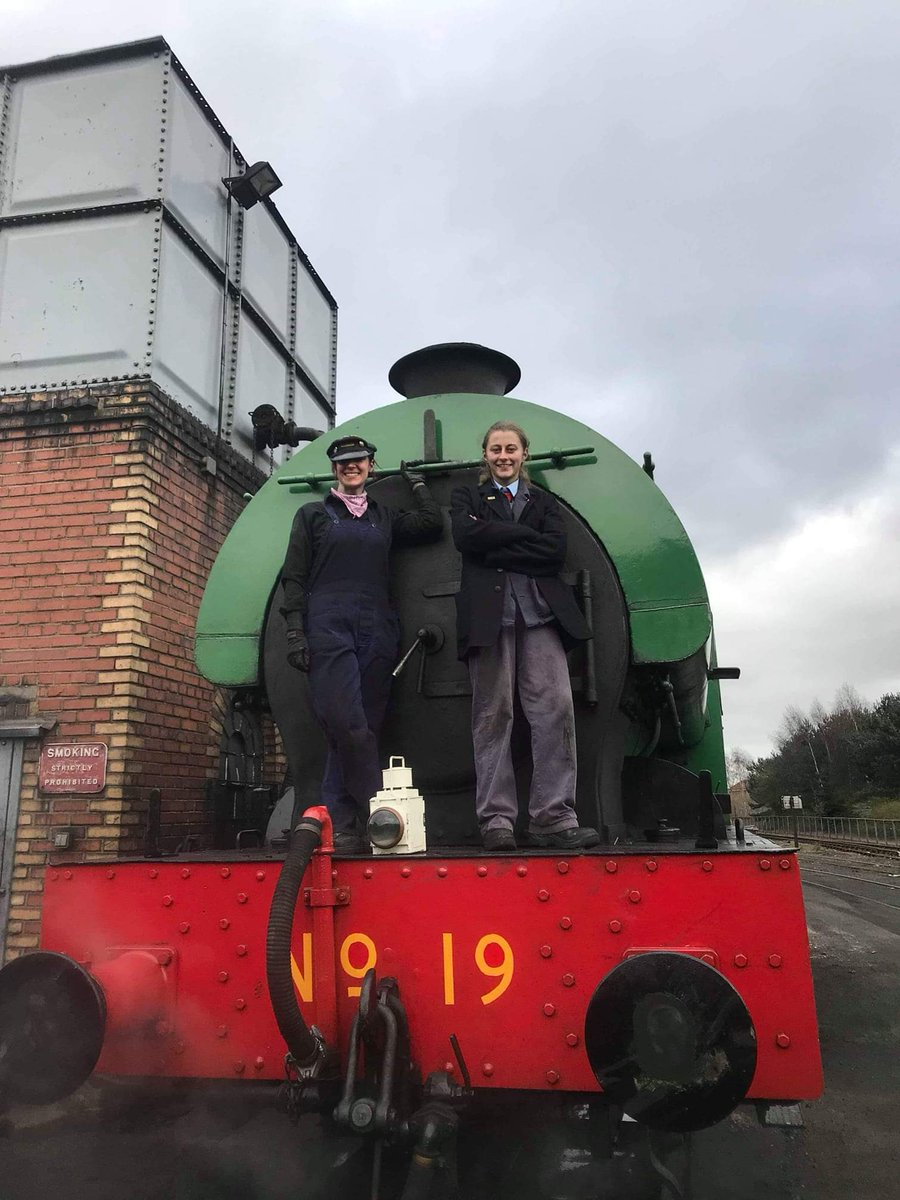 test Twitter Media - Calling all ladies! Do you fancy a new hobby? Why not consider joining us and fire a steam locomotive? A very rewarding job, just look at the smiles from our crew. #GirlPower @bonessrailway @BonessCC @VFalkirk ^JS https://t.co/Idh7V4GTo4
