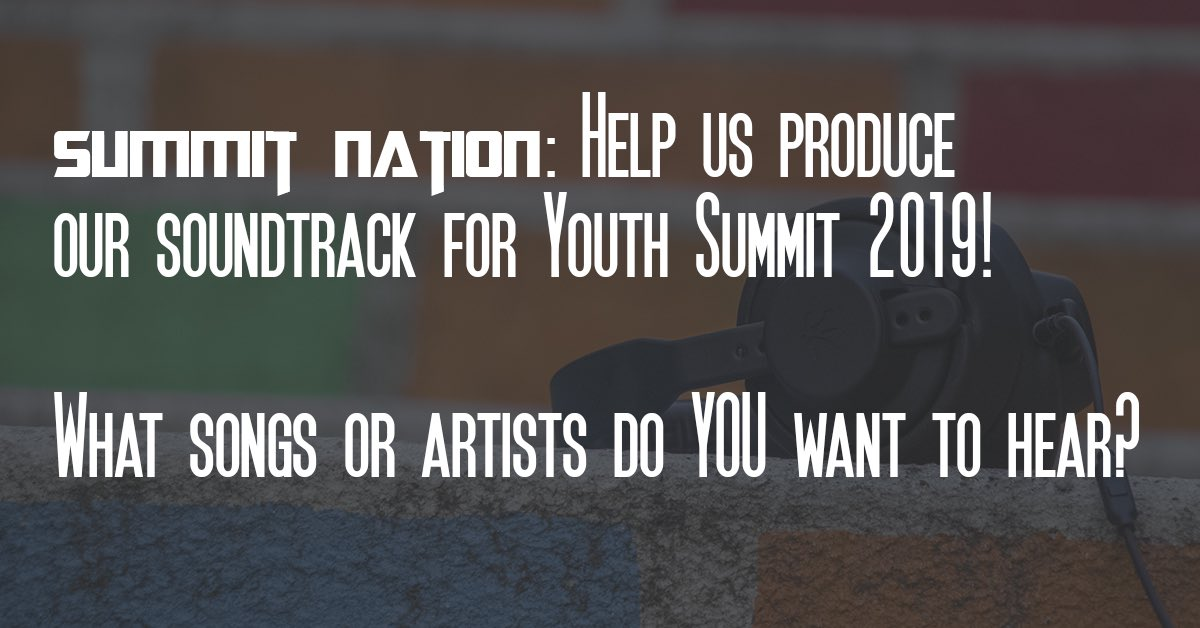 We need your help #SummitNation. @ us your requests! #InfluencersUnleashedpic.twitter.com/XjmqSdbKwn